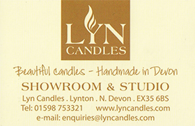 Lyn Candles Ilfracombe